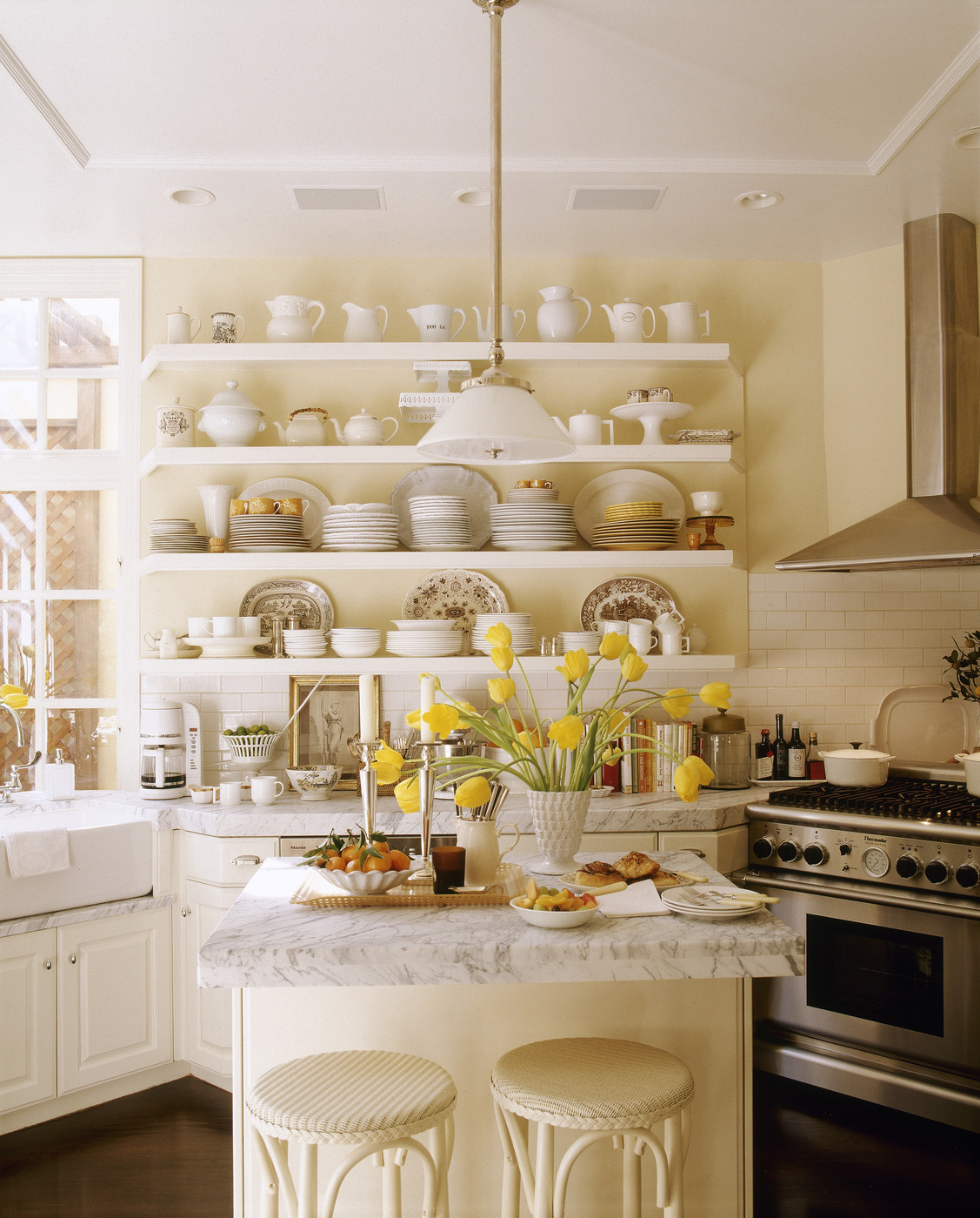 Shelves For Kitchen Wall: Wall Shelving Photos, Design, Ideas, Remodel, And Decor