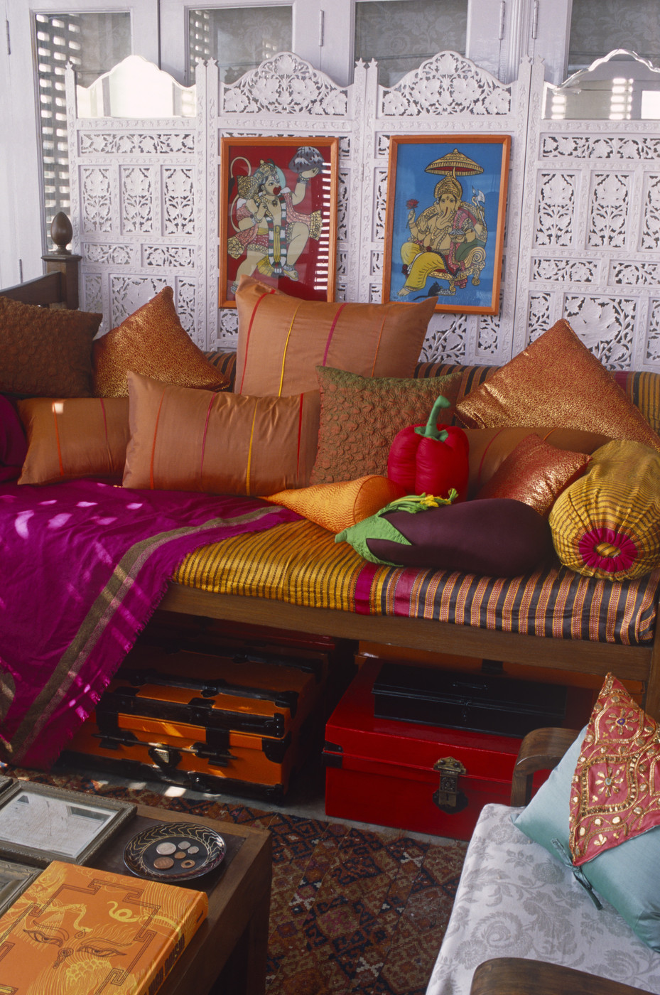 Drawing Room Sofa Designs India: Moroccan Living Room Photos (27 Of 41