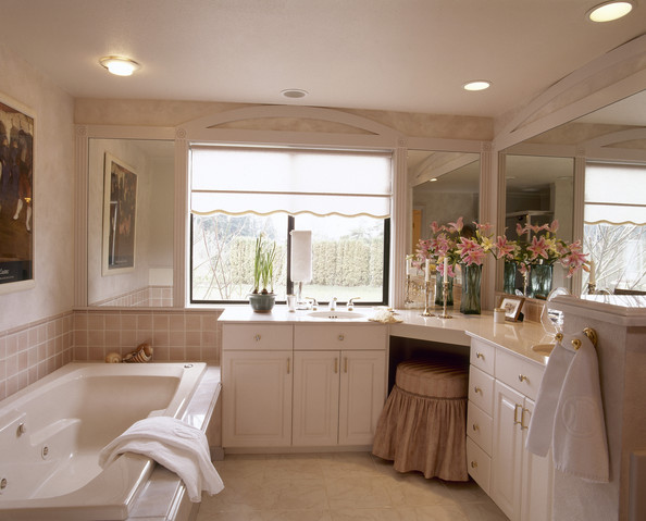 Built In Dressing Table Photos  1 of 1   Traditional Bathroom. Built In Dressing Table Photos  Design  Ideas  Remodel  and Decor