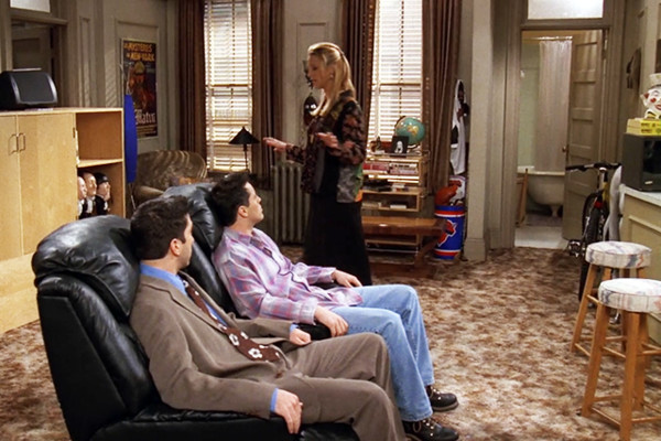 Chandler and Joey's Man Cave