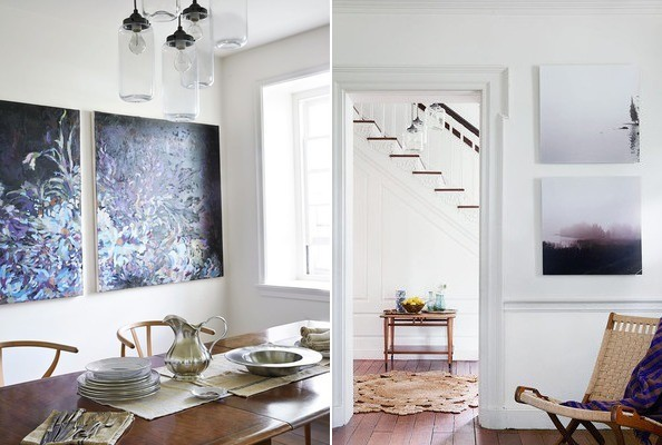 Styling Secrets from a Lonny Cover Shoot: Choosing Art