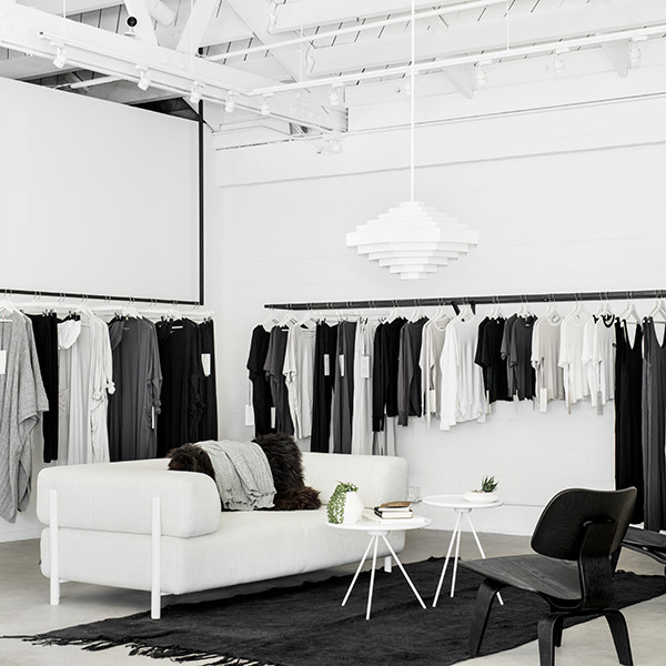 This Beautifully Minimalist Clothing Store Doubles As A Community Space