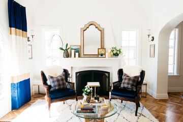 A Renovated English Tudor with a Modern-Day Soul