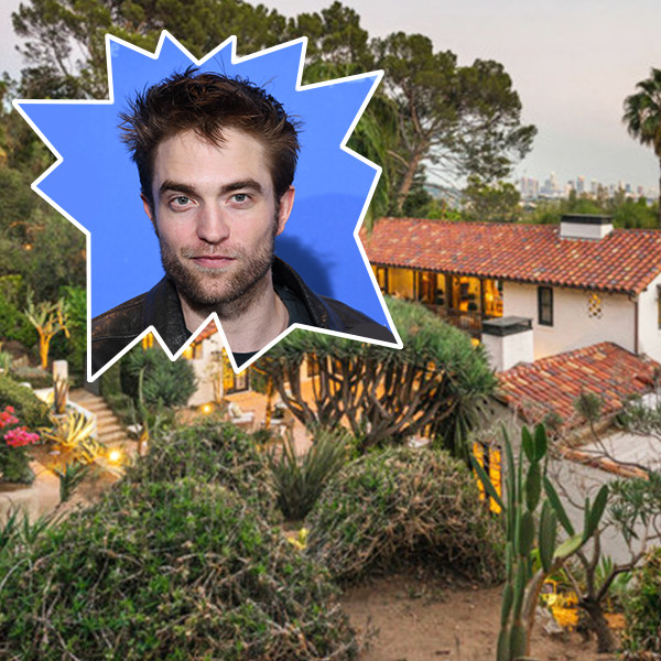 Robert Pattinson's House