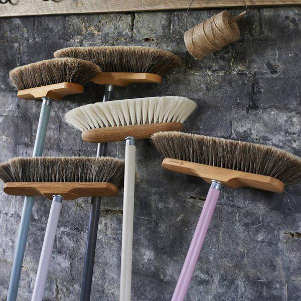 Spring Cleaning Tip #12: Use Natural Brooms Only