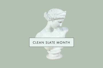 Welcome To Clean Slate Month At Lonny