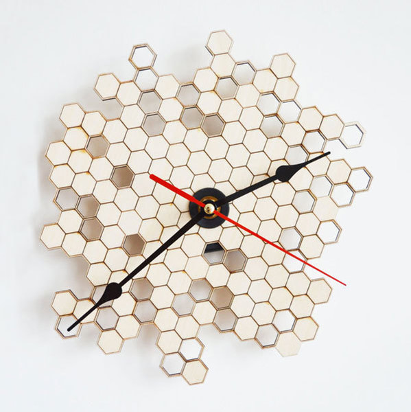 Honeycomb Clock