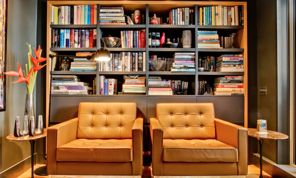 What colors or materials have you seen cropping up in interior design lately that you've really liked?