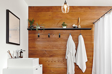 Why Natural Wood Is The Trendiest New Bathroom Material