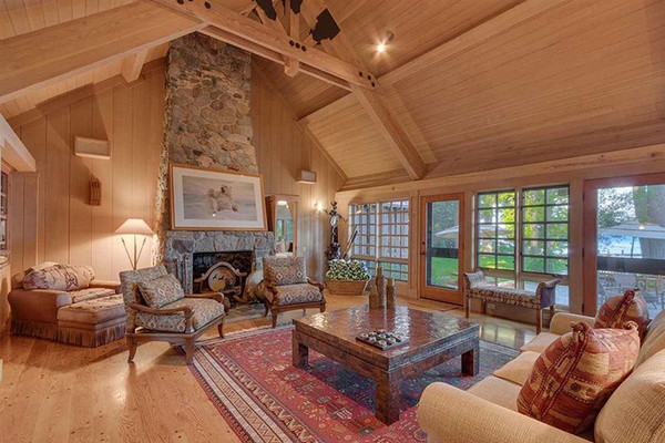 Cabin Vibes - Inside Mark Zuckerberg's $59 Million Lake Tahoe Compound - Lonny