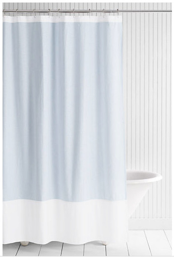 Flexible Shower Curtain Rod Beacon Hill Shower Curtain