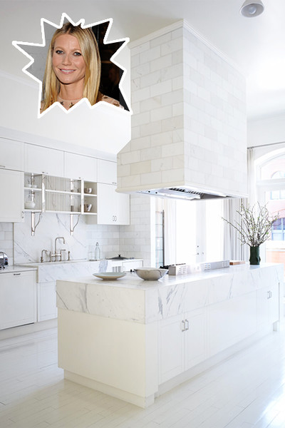 Gwyneth Paltrow's Pristine Kitchen