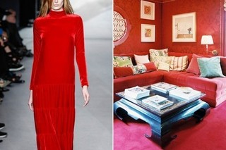 Runway to Room: Tom Ford and Ruthie Sommers See Red