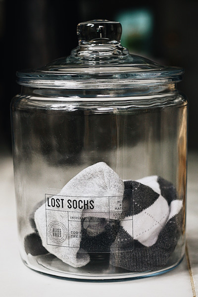 Spring Cleaning Tip #28: Collect Lost Socks