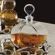 Optic Glass Decanter