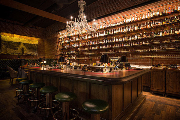 Make A Reservation: Multnomah Whiskey Library