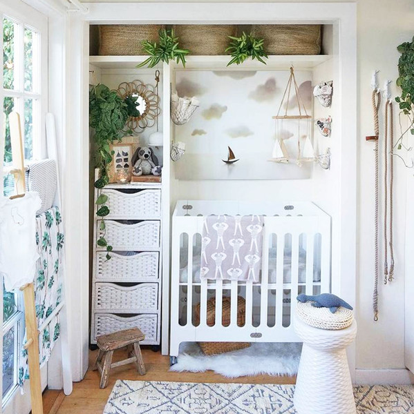 An Entire Nursery In A Closet