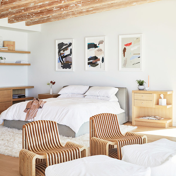Fall In Love With This Chic, Minimal Malibu Beach House