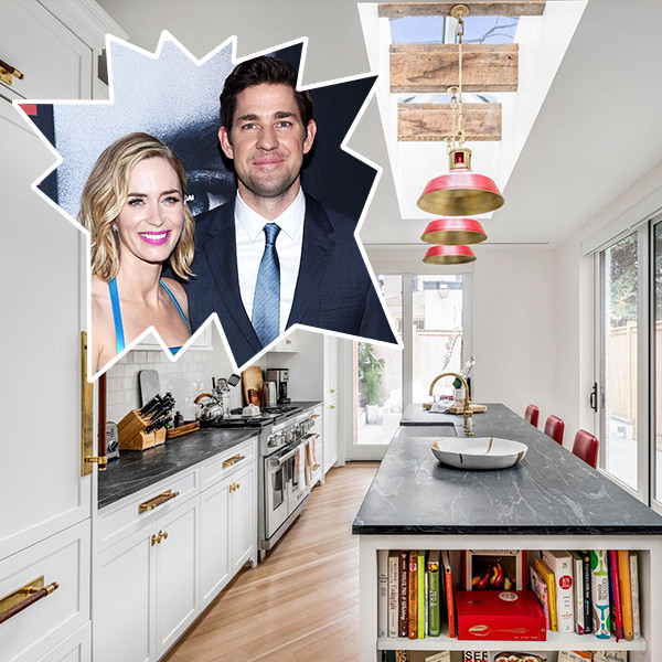 John Krasinski & Emily Blunt List Their Brooklyn Brownstone For $8 Million