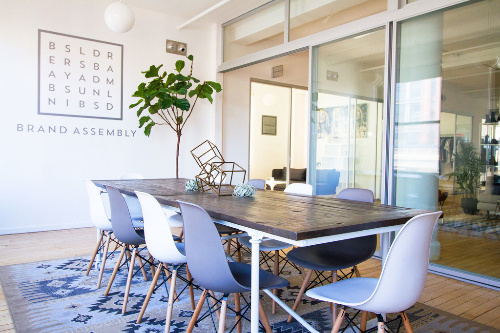 Cozy conference brand assembly s co working office space
