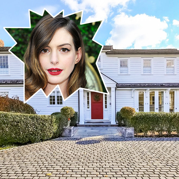 Anne Hathaway's New $2.8 Million Connecticut Estate Is So Rustic Chic