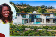 Michelle Obama Rented This Stunning Hollywood Hills Home