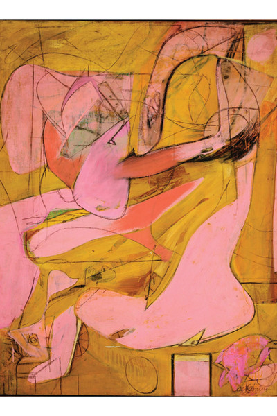 Willem de Kooning's Pink Angels