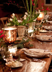 Get the Look: A Woodland-Inspired Christmas Table