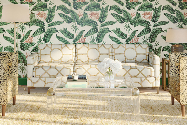 The Inside Just Launched The Prettiest Printed Sofas Lonny