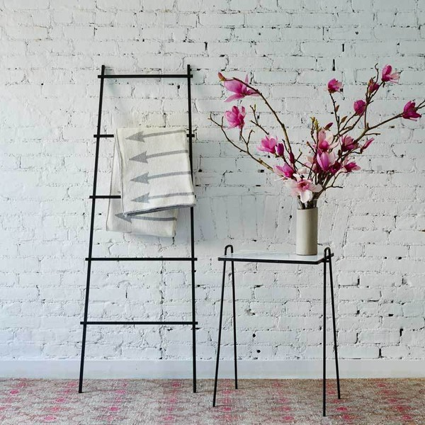 Trend We Love: Leaning Ladders