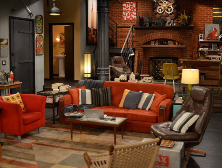 Match the sofa to the sitcom trivia quiz lonny for Living room setups for apartments