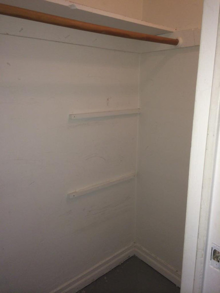 The Entry Closet Before
