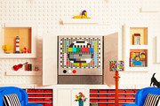 This Home Is Made Entirely Out Of LEGOs -- And You Can Sleep In It
