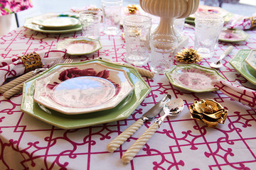 Carolina Irving Talks Flowers and Place Settings for ODLR Home
