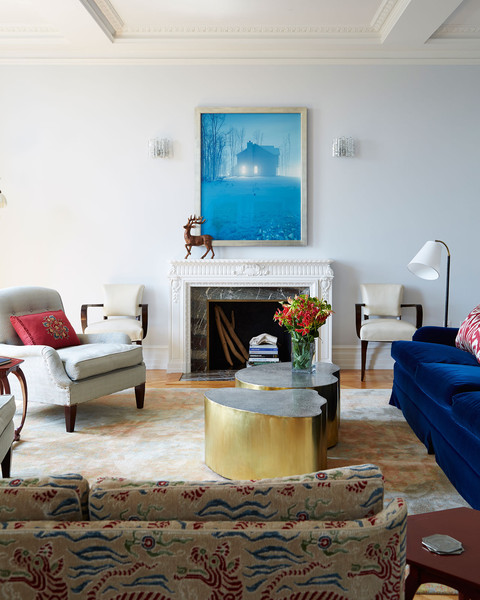 Home Tour: A Sophisticated New York City Apartment by Fawn Galli