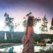 Behati Prinsloo Levine's Reflection Pool