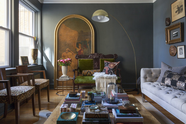 Home Tour: Matt Carollo's Old-World Chicago Apartment