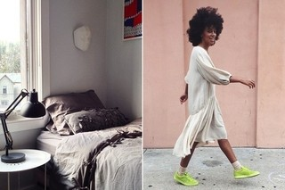 How To Make Your Own Latte and Layer Your Fave Fall Textiles PLUS Solange Standing Against Walls