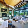 Pink and Carey Hart's Living Room