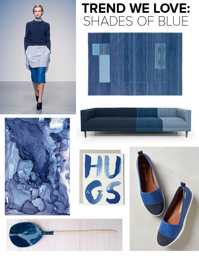 Trend: Shades of Blue