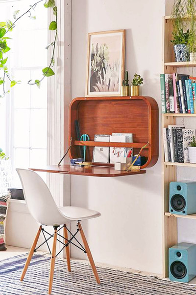 Fold It Up - 30 Small-Space Hacks You\'ve Never Seen Before - Lonny