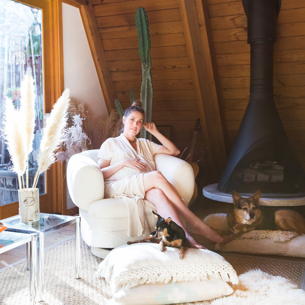 This Hollywood Hills A-Frame Home Is Magical
