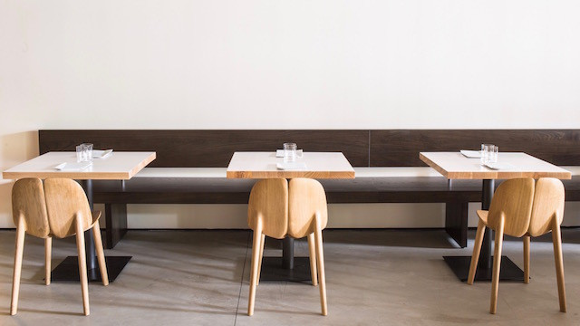 On Wescover, you can scout out the Osso Chair manufactured by Mattiazzi Italy while eating at In Situ.