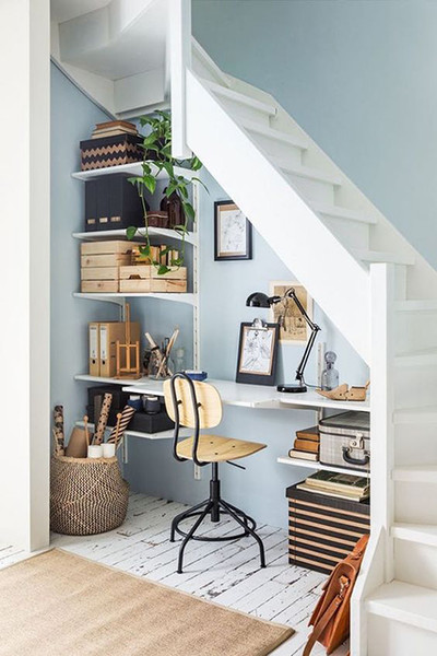 Stairway To Storage The 25 Best Organization Hacks For Small