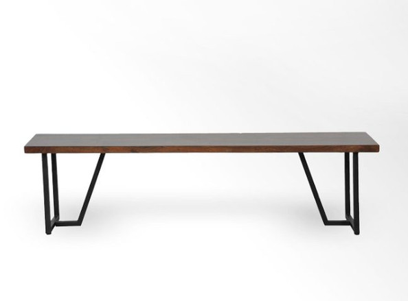 West Elm bench
