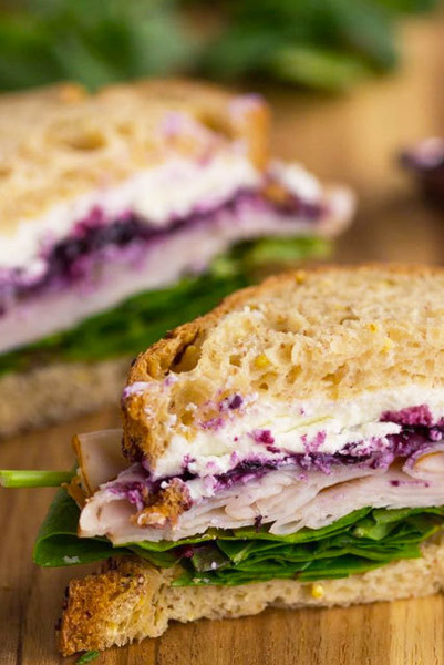 Upgrade: Turkey Sandwich With Jam And Goat Cheese
