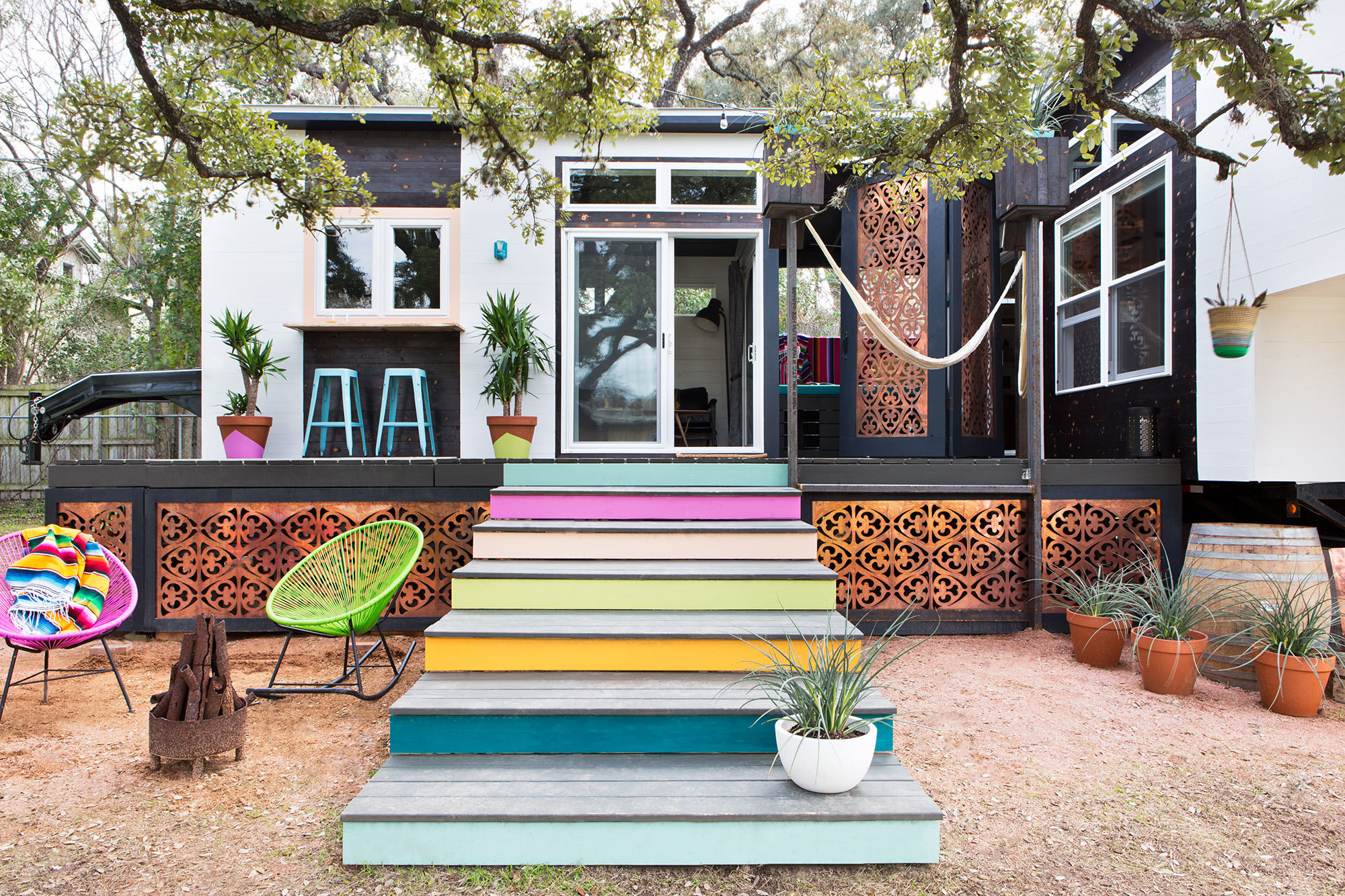 A 400 Square Foot House In Austin Packed With Big Ideas   Small ...