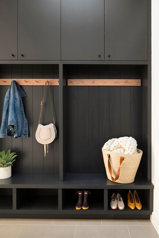 The mudroom, an essential to organization in any home, is a design-minded catch-all.