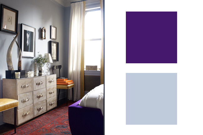 Royal Purple + Frosty Blue - Perfect Designer-Approved ...