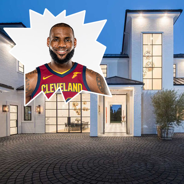 LeBron James Dropped $23 Million On A Marble-Filled Brentwood Estate